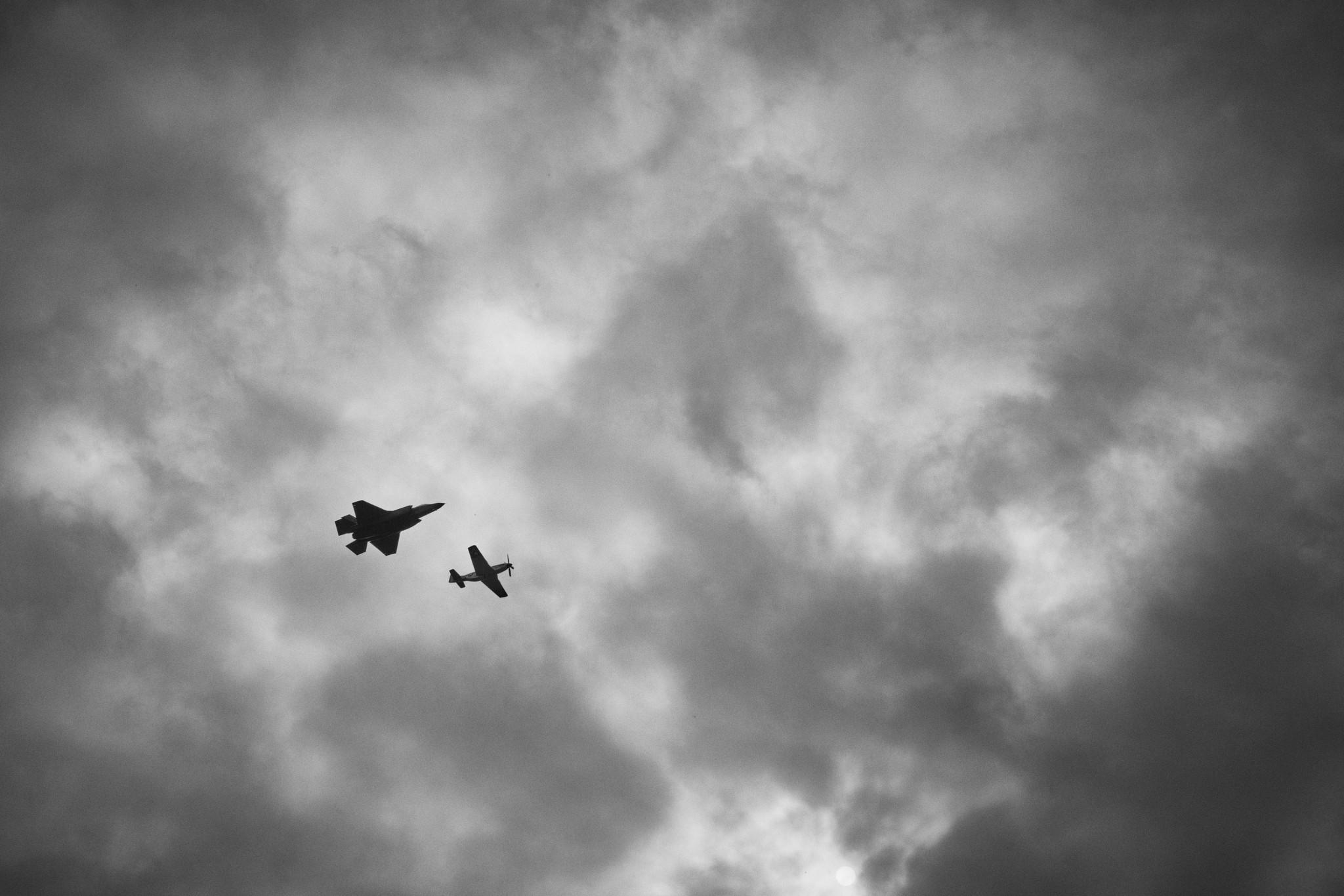 USAF Heritage Flight (P-51 Val Halla / F-35A) - Greg Anders, LTC (Retired) / Capt. Andrew Dojo Olson